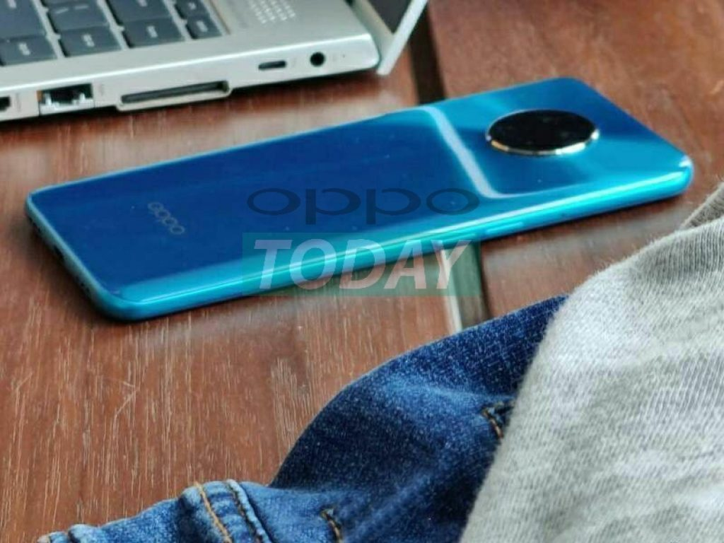 oppo reno ace due appears in the first live photo