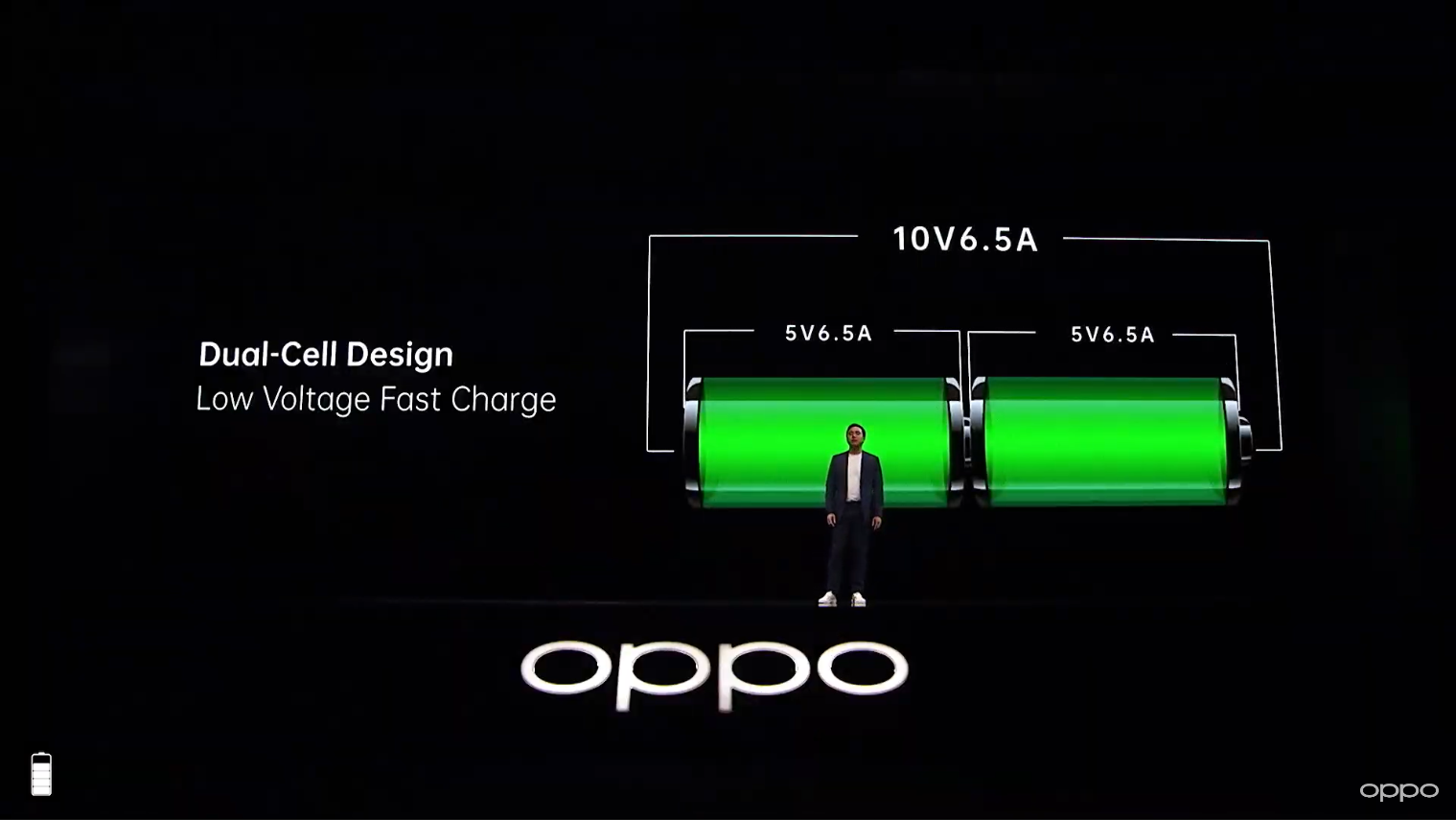 oppo find x2 battery