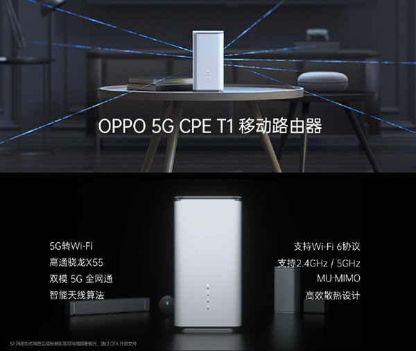 Oppo Enco W51 and Oppo 5G CPE T1