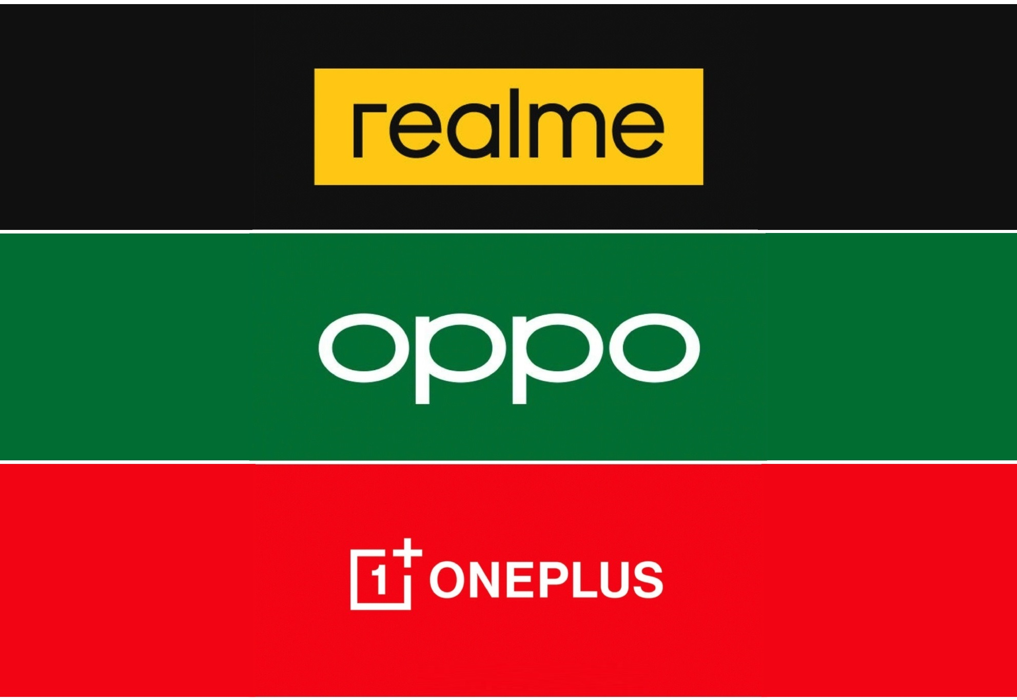 OPPO, Realme and OnePlus