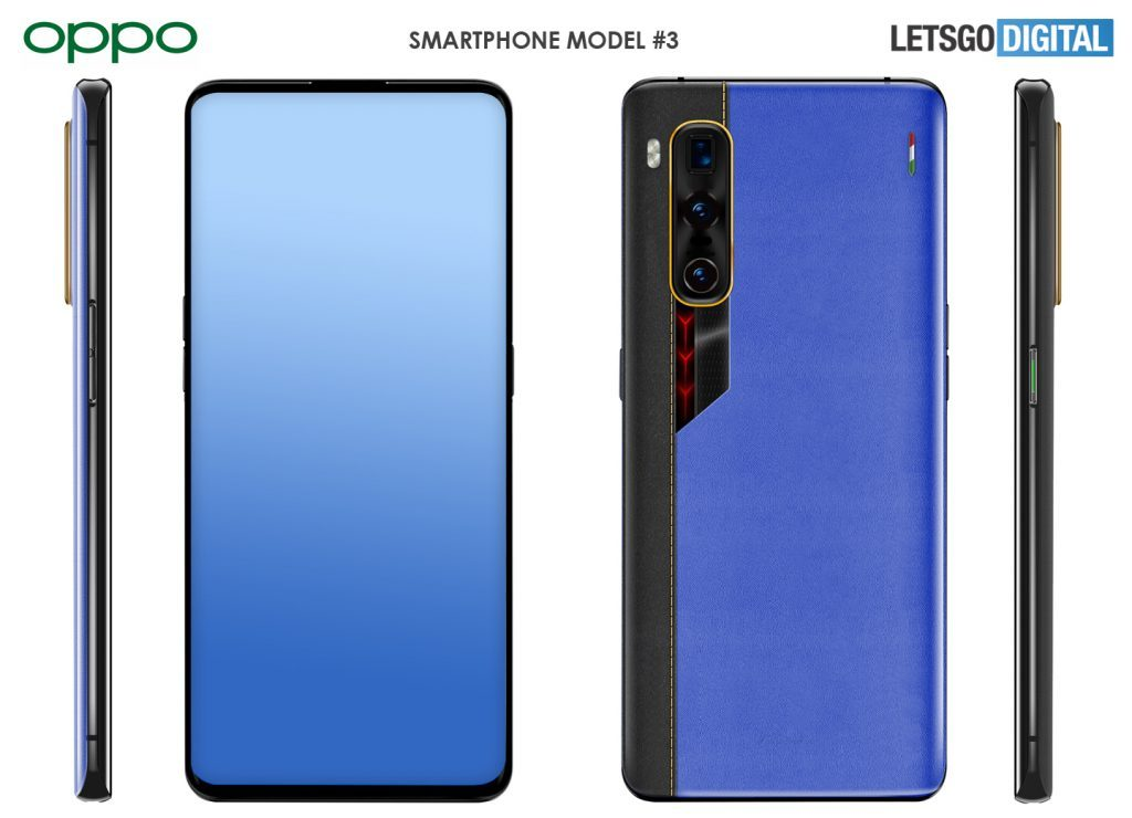oppo find x2 pro special edition with camera under the screen