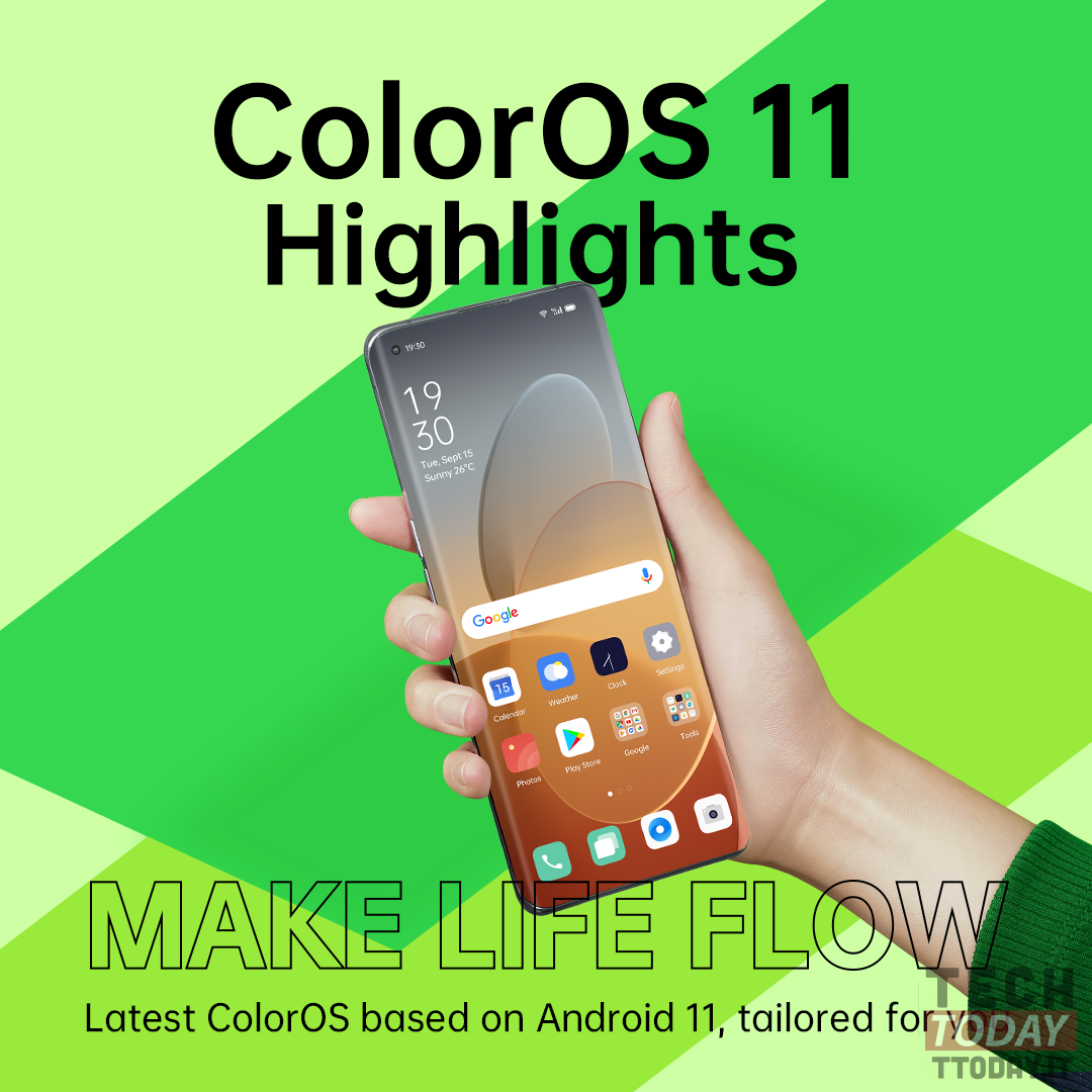 ColorOS 11 Android 11
