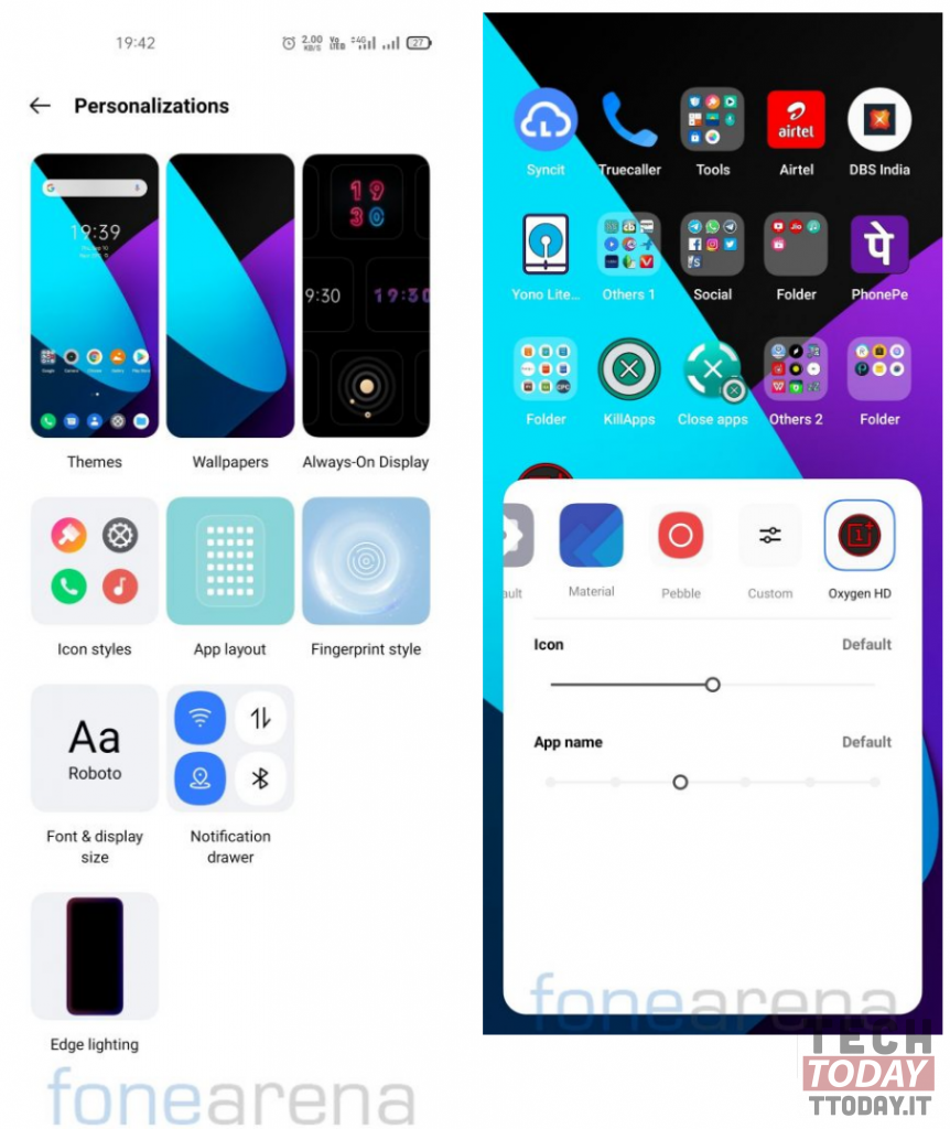 third party icons realme ui 2.0