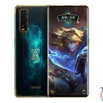 OPPO Finden Sie X2 League of Legends offizielle S10 in China bei 4999 Yuan (680 €)