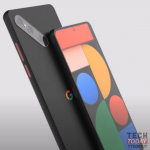 Google Pixel 6 in the first renderings with an oblique camera