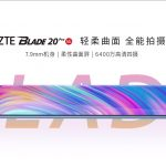 ZTE Blade 20 Pro 5G presented with Snapdragon 765G, AMOLED screen and UD sensor