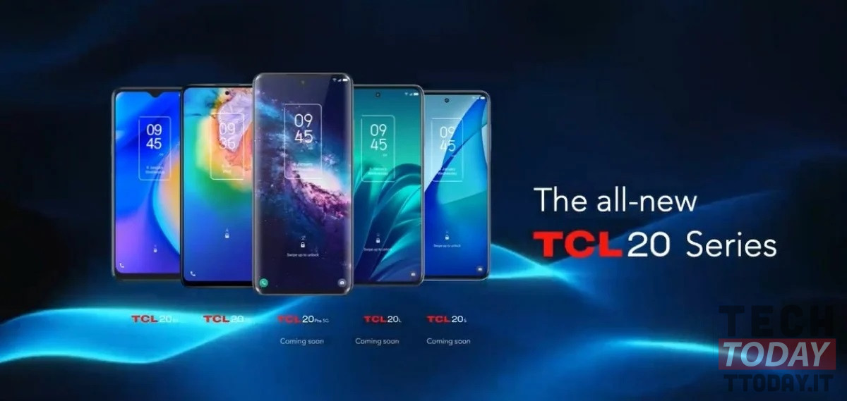 TCL 20 5G and TCL 20 SE